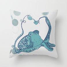 Octopus ! Throw Pillow