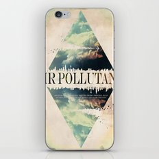 Air pollutant iPhone & iPod Skin