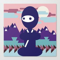 teenja ninja  Canvas Print