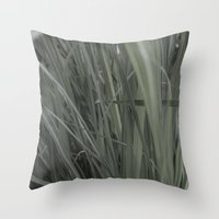 Lemon Grass Throw Pillow