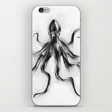 King Octopus iPhone & iPod Skin