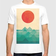 The Ocean, The Sea, The … Mens Fitted Tee White SMALL