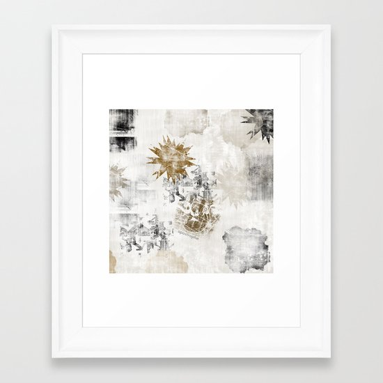 Sandy FLOW Framed Art Print