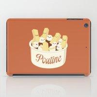 Poutine iPad Case