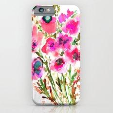 Bouquet Pink  iPhone 6 Slim Case