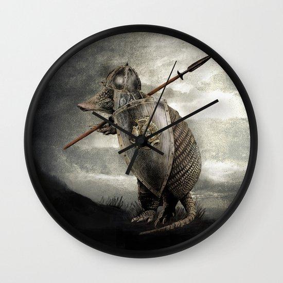 Armadillo by Eric Fan & Viviana González Wall Clock
