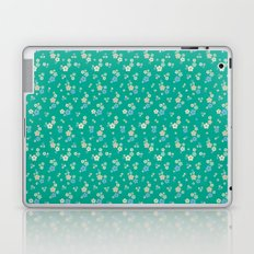 blossom ditsy in emerald Laptop & iPad Skin