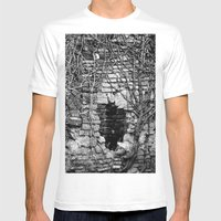 Heart of darkness Mens Fitted Tee White SMALL