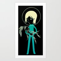Ziggy Star Dust and Madragora Art Print