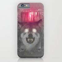 iPhone & iPod Case featuring The Grey Wolf by Valentino Marazziti