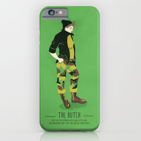 The Butch - A Poster Guide to Gay Stereotypes iPhone & iPod Case