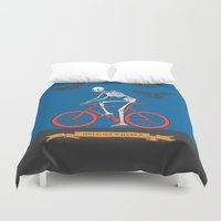 HELL ON WHEELS Duvet Cover