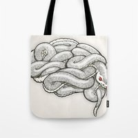 Brainsnake Tote Bag