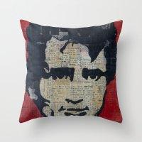 Jack Kerouac: Get On The… Throw Pillow