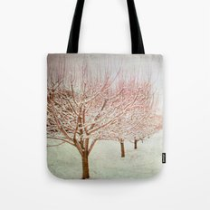 January Romance Tote Bag