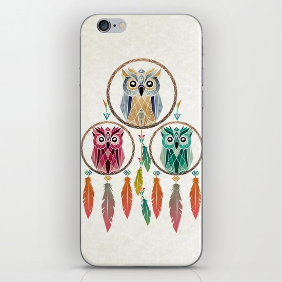 dream owl iPhone & iPod Skin