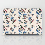 Too Cool To Penguin iPad Case
