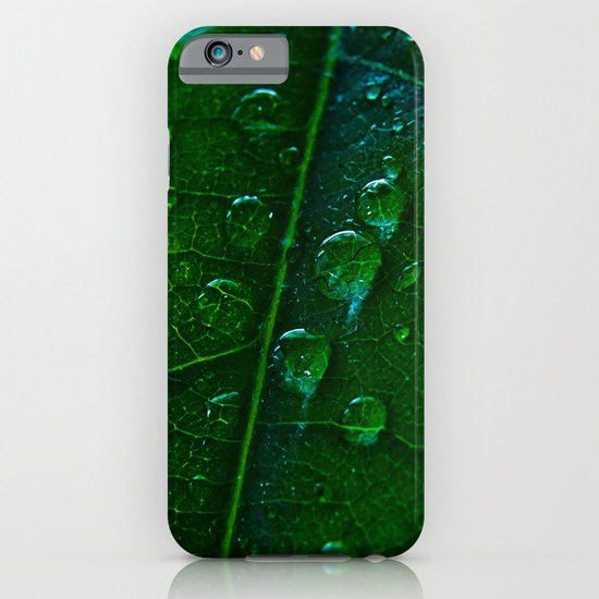 Green Bubbles iPhone & iPod Case