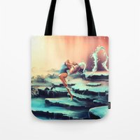 AQUARIUS from the Dancing Zodiac Tote Bag