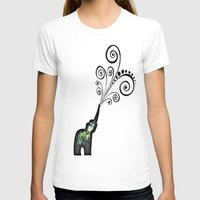 dreaming big Womens Fitted Tee White SMALL