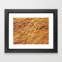 Oliver/ Sharon/ Red Framed Art Print
