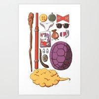Dragon Ball Ztuff Art Print