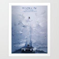 Rocky IV Art Print