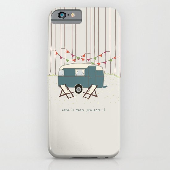 Home is where you park it iPhone & iPod Case