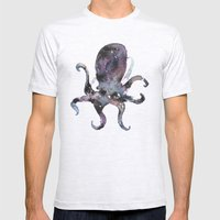 Long Time No Octo Mens Fitted Tee Ash Grey SMALL