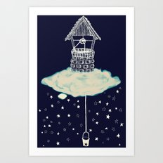 Wishing So Well Art Print