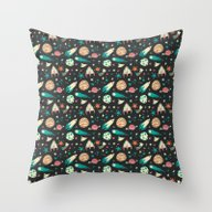 Science Fiction Wrapping… Throw Pillow