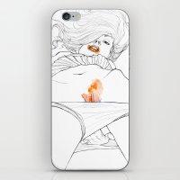 Flame iPhone & iPod Skin