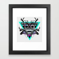 ▲CARIBOU▲ Framed Art Print