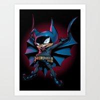 Bat-Mite Art Print