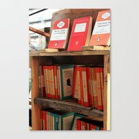 Bookseller Canvas Print