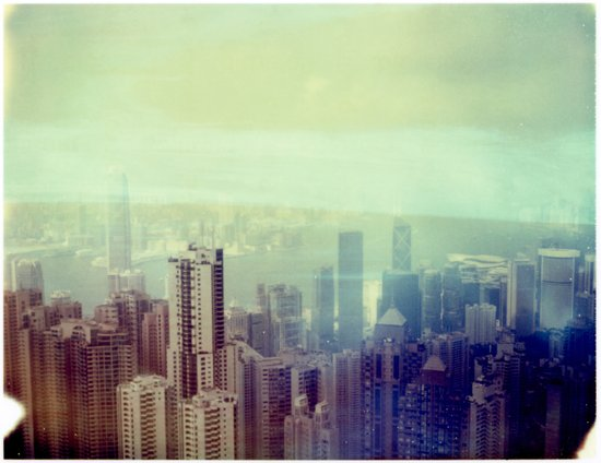 Hong Kong Polaroid Art Print