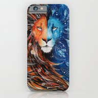 Fire And Ice Lion iPhone 6 Slim Case