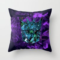 Decepticons Abstractness… Throw Pillow