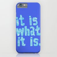 What It Is Blue iPhone 6 Slim Case