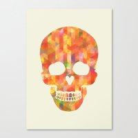 Fun Skull Canvas Print