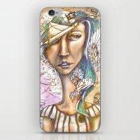 Paper Pirate iPhone & iPod Skin