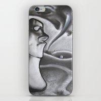 Courage iPhone & iPod Skin