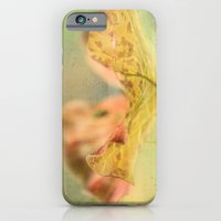 iPhone & iPod Case featuring Faded Water Leaf  - JUSTART © by JUSTART