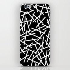 Kerplunk Black and White iPhone & iPod Skin