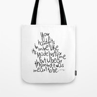 Little Things - One Direction Tote Bag
