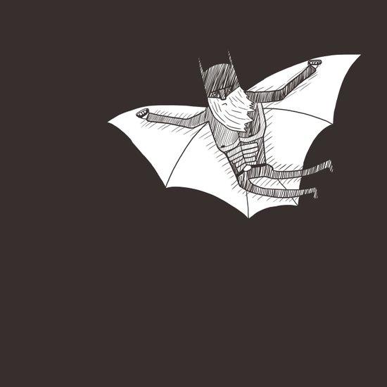 Batbeard Art Print