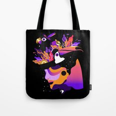 Tropical Night ✨ Tote Bag