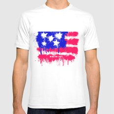In God We Trust SMALL Mens Fitted Tee White