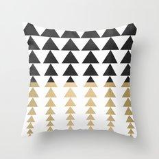 Minimal Triangles Throw Pillow