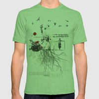 Freedom Mens Fitted Tee Grass SMALL